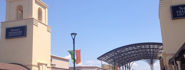 Shisui Premium Outlets is one of Favorite Places in Japan.