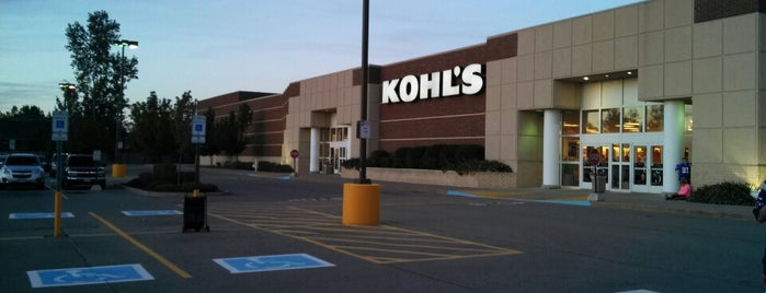 Kohl's is one of 20 favorite restaurants.