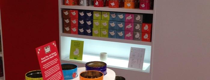 Kusmi Tea is one of Paris.