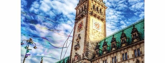 Hamburger Rathaus is one of Mein Deutschland.