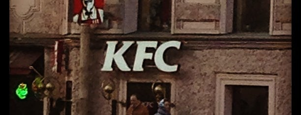 KFC is one of My places.