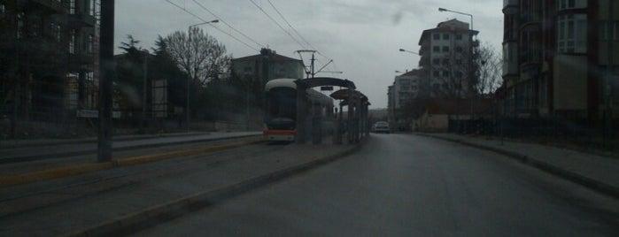 Borsa Tramvay Durağı is one of Eskişehir SSK - Otogar Tramvay Hattı.