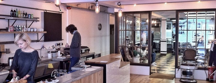 Sharps Coffee Bar is one of time out london.