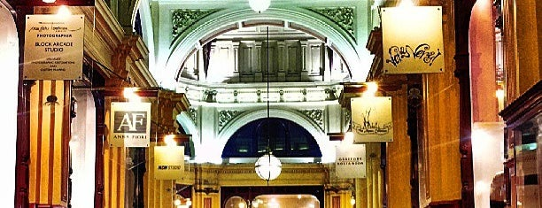 The Block Arcade is one of Melbourne & Victoria.