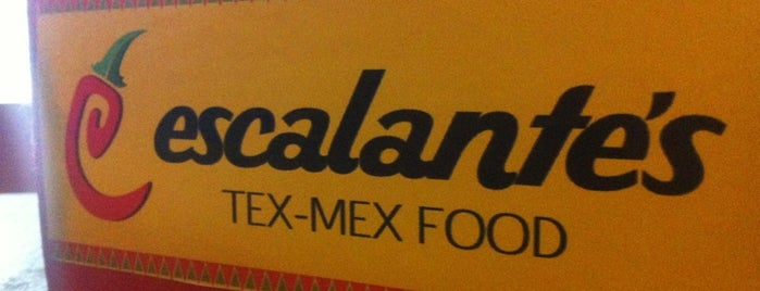 Escalante's Tex-Mex Food is one of Recife ♥.