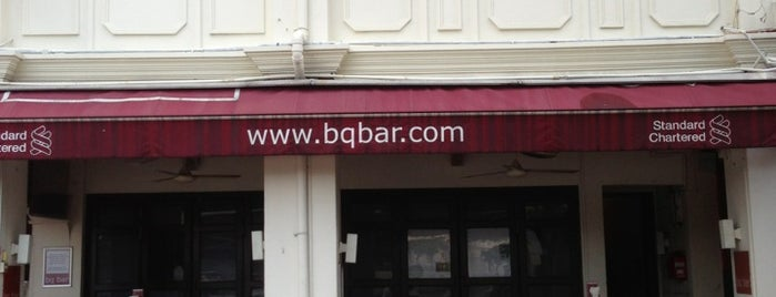BQ Bar is one of 100 great bars - Lonely Planet 2011.
