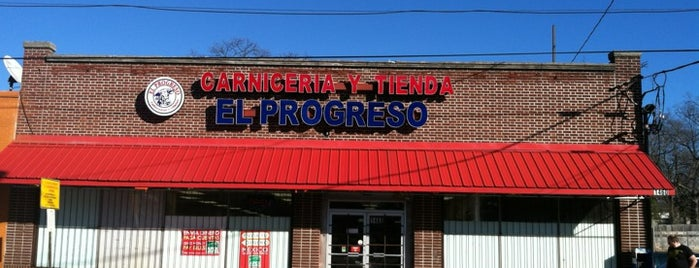 Carniceria Y Tiendas El Progresso is one of Hifi Lunch Eats - ATL edition.