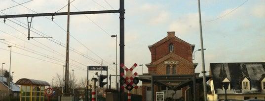 Station Herzele is one of Bijna alle treinstations in Vlaanderen.