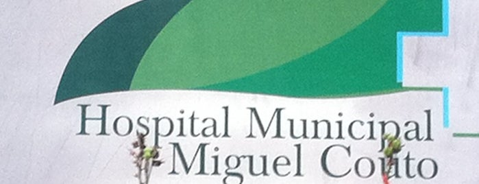 Hospital Municipal Miguel Couto is one of Hospitais Cariocas.