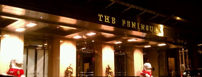 The Peninsula is one of Two days in Chicago, IL.