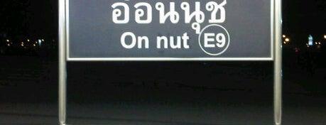 BTS On Nut (E9) is one of BTS - Light Green Line (Sukhumvit Line).