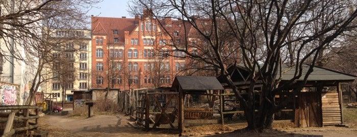 Kinderbauernhof am Mauerplatz is one of Grün und Blau Berlin.