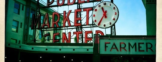 Pike Place Market is one of Seattle Spots and Beyond.