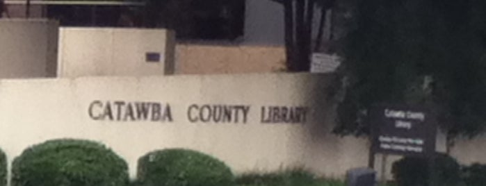 Catawba County Library is one of Libraries in Catawba County.