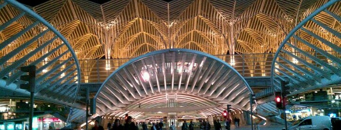 Gare do Oriente Train Station is one of Lisbon's Architectural Wonders.