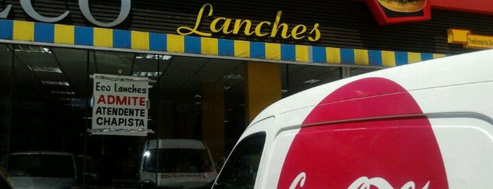 Eco Lanches is one of Burgers in Porto Alegre.