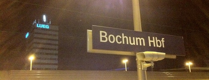 Bochum Hauptbahnhof is one of DB ICE-Bahnhöfe.