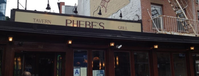 Phebe's is one of East village restaurants.