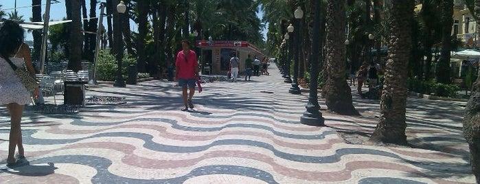 Explanada de España is one of Alicante #4sqCities.
