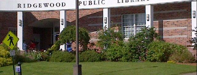 Ridgewood Public Library is one of Best Places in Ridgewood NJ #visitUS.