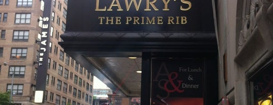 Lawry's The Prime Rib is one of Chicago Bulls Bars in Chicago.