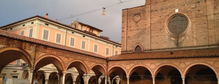 Basilica di Santa Maria dei Servi is one of #4sqCities#Bologna - 80 Tips for travellers!.