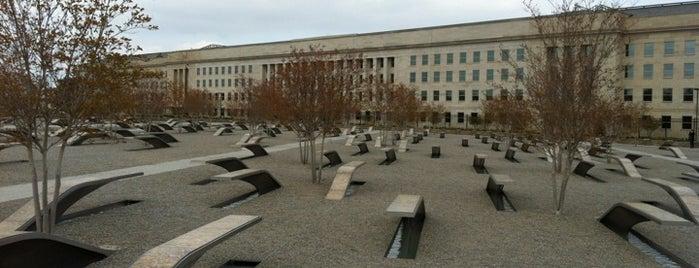 Pentagon Memorial Grassy Knoll is one of DC's favorites.