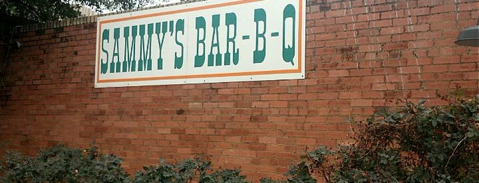 Sammy's Bar B Que is one of Central Dallas Lunch, Dinner & Libations.
