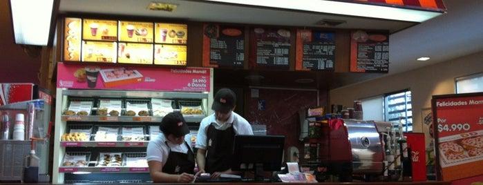 Dunkin' Donuts is one of Gastronomía en Santiago de Chile.
