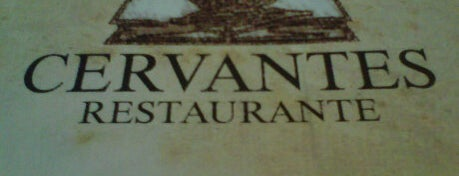 Cervantes is one of Rio - Restaurantes.