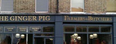 The Ginger Pig is one of LONDON RESTAURANTS.