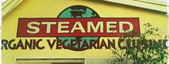 Steamed Organic Vegetarian Cuisine is one of Vegan <3.