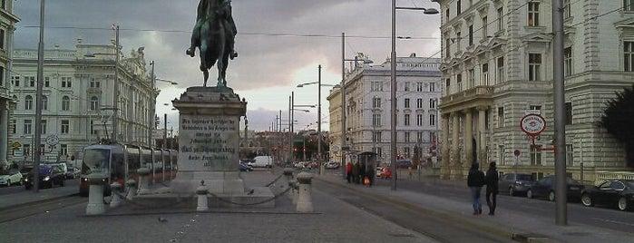 Schwarzenbergplatz is one of Vienna, Austria - The heart of Europe - #4sqCities.