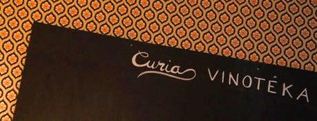 Curia Vinotéka is one of Éttermek   Restaurants.