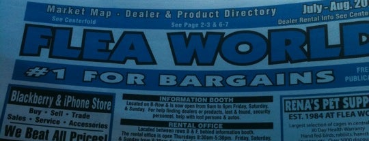 Flea World is one of Places to Eat in Lake Mary/ Heathrow Area.