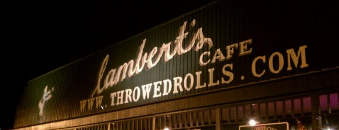 Lambert's Cafe is one of Great Places.