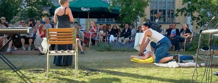 Korjaamo Summer Garden is one of #myhints4Helsinki.