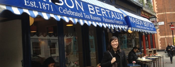 Maison Bertaux is one of London best.