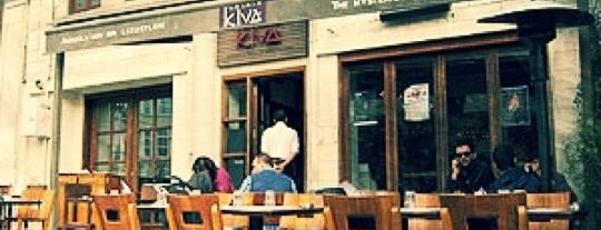 Kiva is one of Istambul food.
