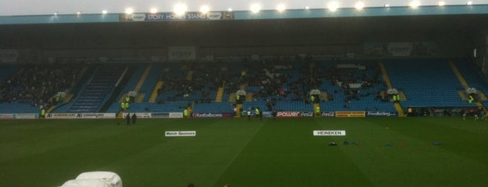 Brunton Park is one of Football grounds visited.
