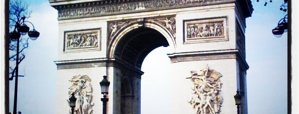 Arc de Triomphe is one of World Sites.