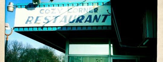 Cozy Corner is one of Diners, Drive-Ins, & Dives.