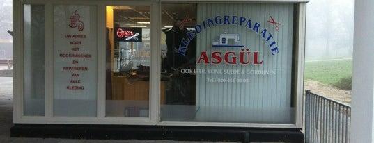 Kledingreparatie Asgul is one of Winkels.
