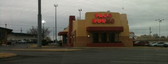 Taco Bueno is one of day.