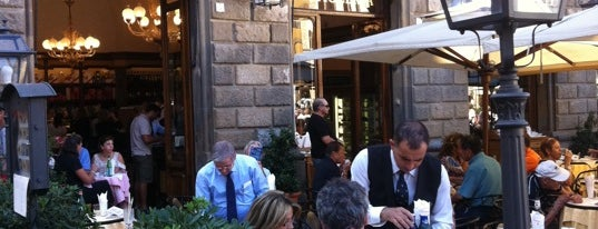 Rivoire is one of The 15 Best Places for Coffee in Florence.
