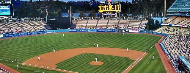 Dodger Stadium is one of espn.
