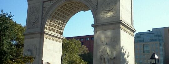 Washington Square Park is one of Visit to NY.