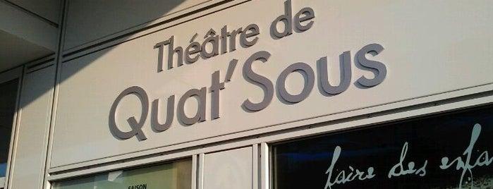 Théâtre de Quat'Sous is one of Carte accès Montréal.