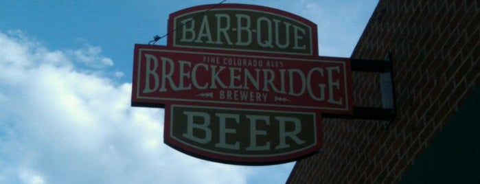 Breckenridge Brewery & BBQ is one of Top Restaurants.