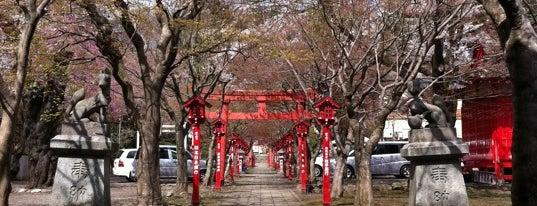 榊山稲荷神社 is one of Shinto shrine in Morioka.